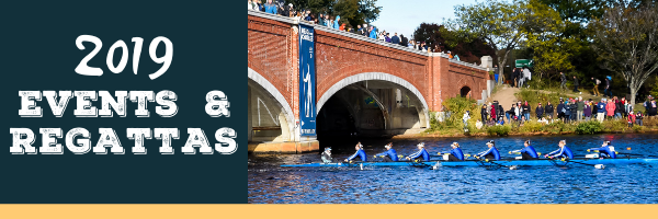 2019 Events & Regattas Banner